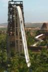 Vertical water slide