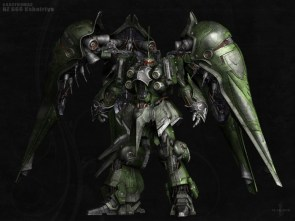giant green robot
