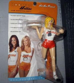 Hooters Antenna Toy
