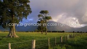 carry a grenade