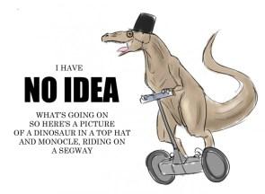 elitist dinosaur