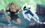 vegeta fights