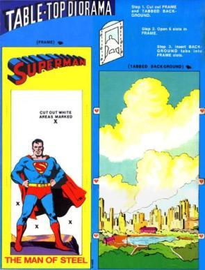 Superman Table-Top Diorama