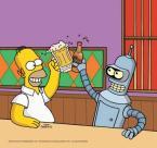 Homer And Bender