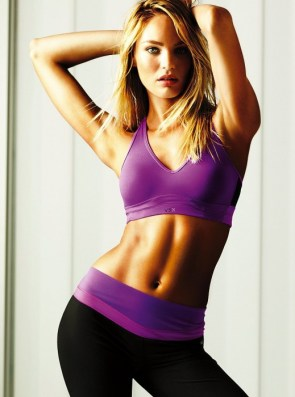 modeling workout clothes