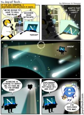 Netscape Navigator Comic