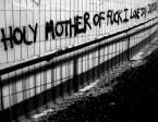 Joy Division wall
