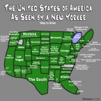 The USA as seen by a New Yorker