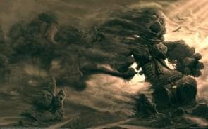 Ashen Gods wall