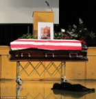 Dog of Fallen Navy SEAL, Officer Jon Tumilson, Refuses To Leave Casket