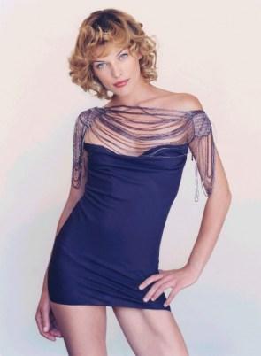 milla's blue dress