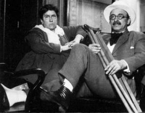 Emma Goldman and Alexander Berkman