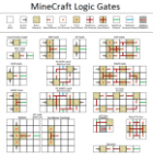 minecraft logic gates