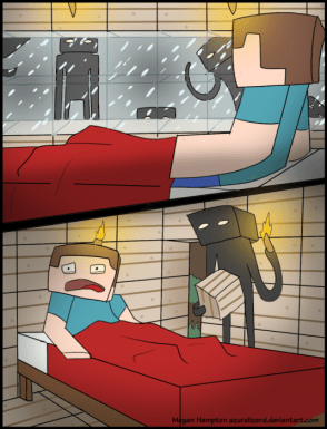 minecraft nightmares