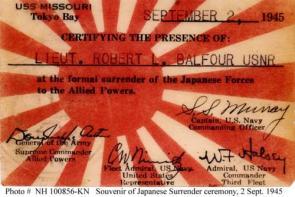 Japan Surrender