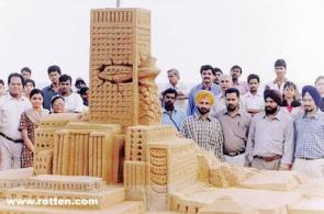 Mother of All Sand Castles