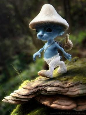 real live smurf