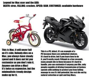 PC vs Mac bike edition
