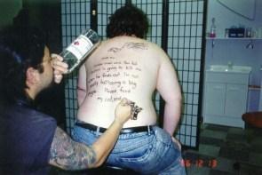 Tattooist suicide
