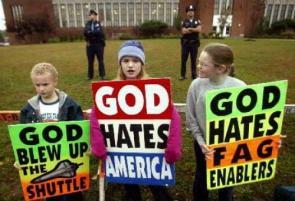 God needs to smite these F**ks