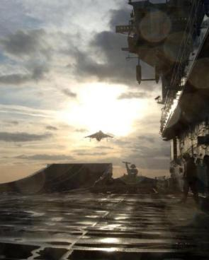 HMS Illustrious – Deck View