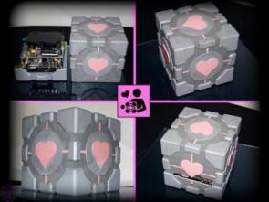 Companion Cube Case Mod