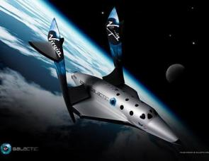 The SpaceShipTwo by Virgin