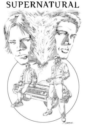 Penciled Supernatural