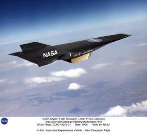 Mach 7 NASA ScramJet