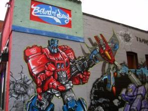 Transformers graffiti