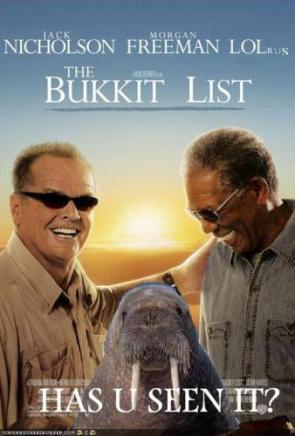 LOLrus Bucket List