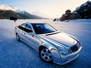 Chrome Mercedes