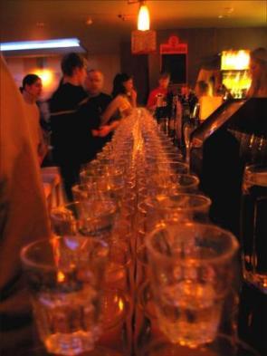Row Of Glasses