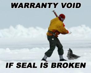 Warranty void if seal is broken