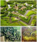 Star Fort in Bourtange, The Netherlands