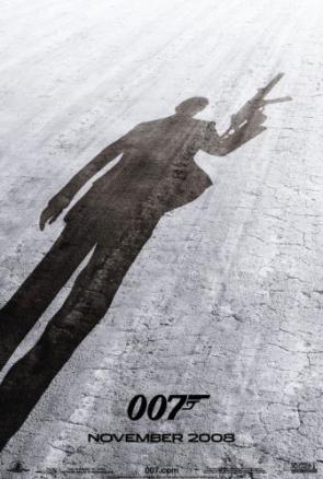1st Poster for new Bond movie