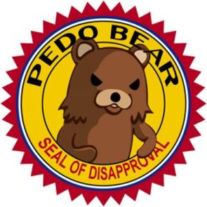 PedoBear Seal of Disapproval
