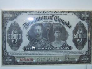 $50,000 Bill