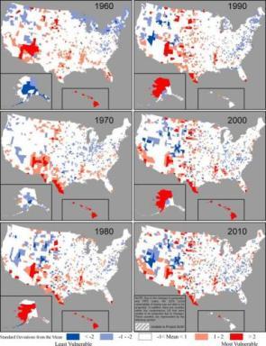 US Disaster Hotspots