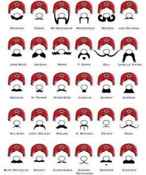 Marios Mustaches…