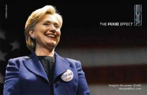 The Axe Effect: Hillary for Obama