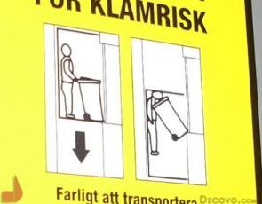 Death by Trashcan Warning