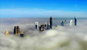 Dubai Above The Clouds