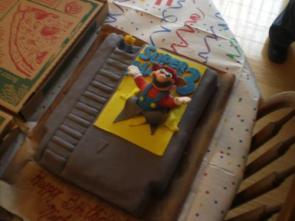 My Super Mario Bros. 3 Cake