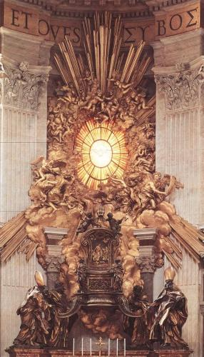 The Throne of St. Peter