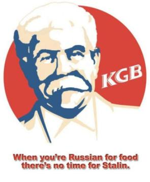 KGB: When you're Russian for food there's no time for Stalin