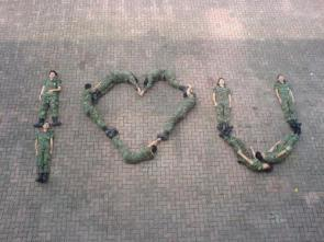 The Chinese Army Loves You!