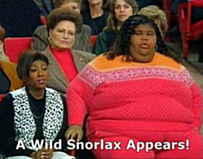 Snorlax – all to real