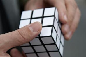 Blank Rubic's Cube
