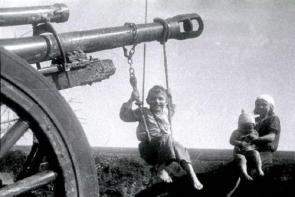 Artillery Swingset